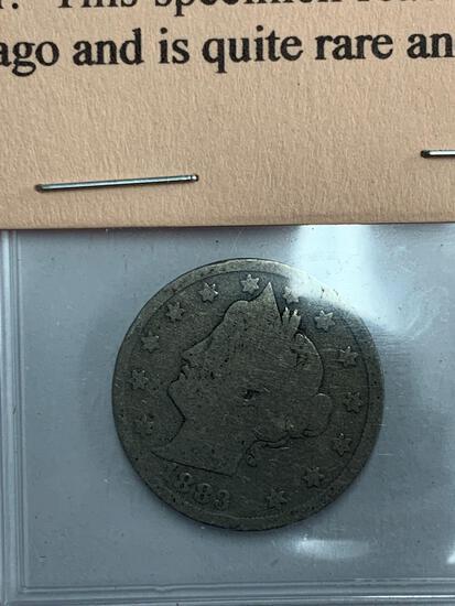 "1883 ""No Cents"" Liberty Nickel"