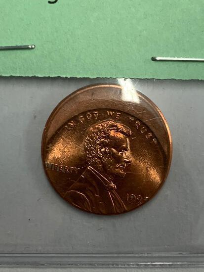 Mint-Error Coin