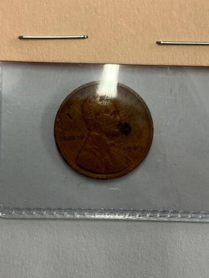 1909 VDB First Year Issue Lincoln Cent (rare)