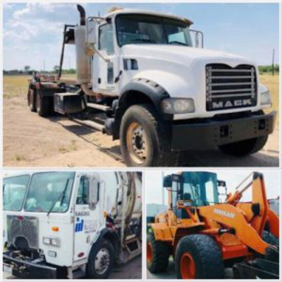 Municipal Machinery, Vehicle, Surplus, Consignment