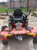 Gravely 272 Z Zero Turn Mower, Srl# 001501, Hrs: 1,741