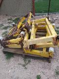 Pallet with Metal Frames (Yellow)