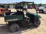 Polaris Ranger 2x4 Side by Side ATV, Srl# 4X4RB50A792706737