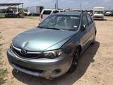 2010 Subaru Impreza Passenger Car, VIN # JF1GH6D68AH811966