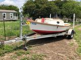2012 Homemade Sail Boat (NO TRAILER)