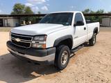 2006 Chevrolet Silverado 2500 HD Pickup Truck, VIN # 1GCHC24U06E258825
