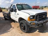 1999 Ford F-450 Flatbed Pickup Truck, VIN # 1FDXF46F8XED63381