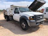 2007 Ford F-450 Pickup Dump Truck, VIN # 1FDXF46Y77EA42188