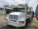 2003 International F-8100 CH Truck, VIN # 1HSHNAHR03H566492 With 1996 Boydstun Metal Car Hauler Trl