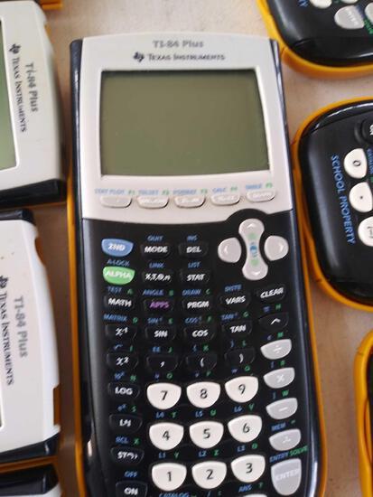 (41) Calculators Ti-84 Plus