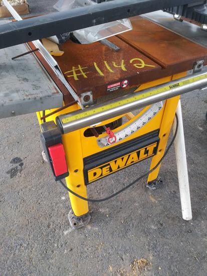 Dewalt Table Saw Model #DW746 (Pallet #38M)
