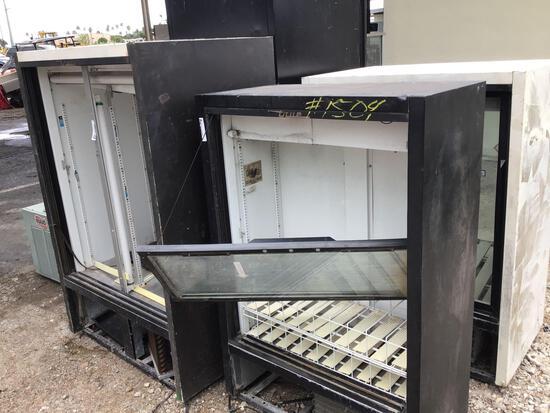 4 Refrigerators with Glass Doors