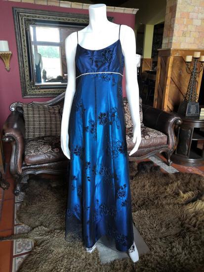 NIGHT DRESS. BRAND ONYX NITE. SIZE 8. PRICE $250