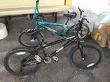 2 Bicycles (Black, Aqua)