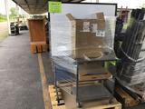 Pallet w/White Board, Cart, Water Fountain (Pallet #24M)