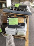 Pallet w/Printers, Doc Cameras, Antenna, Keyboards, Switch Board (Pallet #'s 4E, 74A)