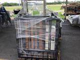 Pallet w/Wooden Cabinet, Shelf, Carts (Pallet #124F)