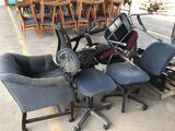 Group of Office Chairs