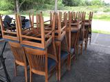 24 Wooden Chairs
