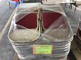 Pallet w/40 Folding Chairs (Pallet #43C)