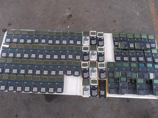 """(42) """"TI-73"""", (11) """"TI-84"""", (1) """"TI-NSpire"""", (14) """"TI-83"""", (20) """"TI-82"""""""
