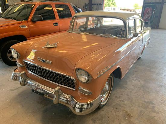 1955 Chev Sedan 4 Door, VIN# B55S221240
