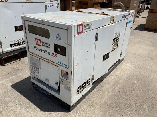 Power Pro 25 Airman Dsl. Power AC Generator