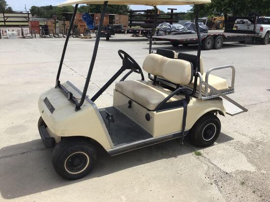Club Car Golf Cart with Extra Rear Seat