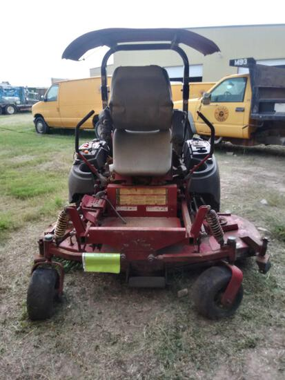 Ferris Zero-Turn Lawn Mower (No Key)Caterpillar Diesel Engine, Hours UNKNOWN...
