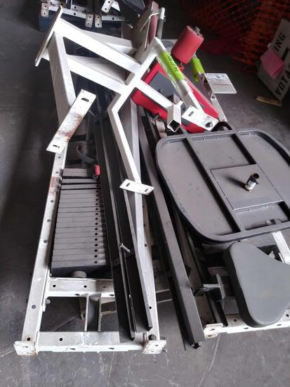 All in One Equip. Body Masters Circuit Master CM-422 Leg Extension, CM-240 Lat Pulldown, CM-430
