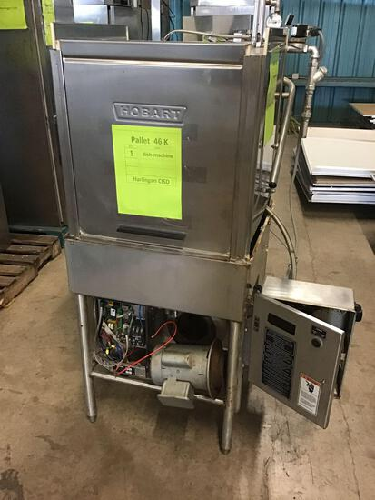 (1) Hobart Commercial Dish Washer Steamer