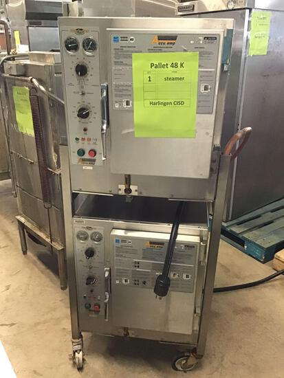 (1)Accu Temp Double Stack Steam Ovens, Model# S62083D1003025