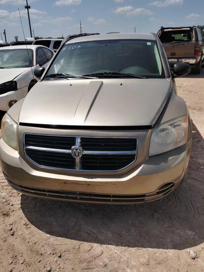 2009 Dodge Caliber Passenger Car, VIN # 1B3HB48A89D156702