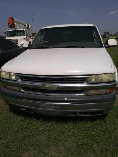 2004 Chevrolet Tahoe Multipurpose Vehicle (MPV), VIN # 1GNEC13Z74R172239