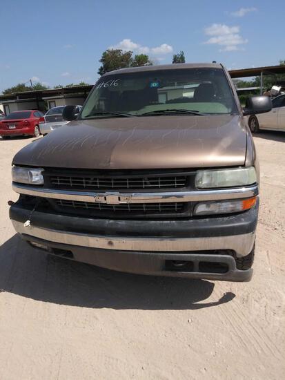 2004 Chevrolet Tahoe Multipurpose Vehicle (MPV), VIN # 1GNEK13V94R123169