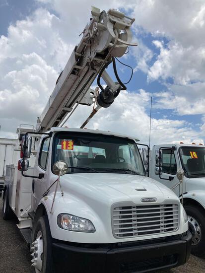 2013 Freightliner w/29' Digger Boom M2 106 Medium Duty Truck, VIN # 3ALACXDT3DDFE4601