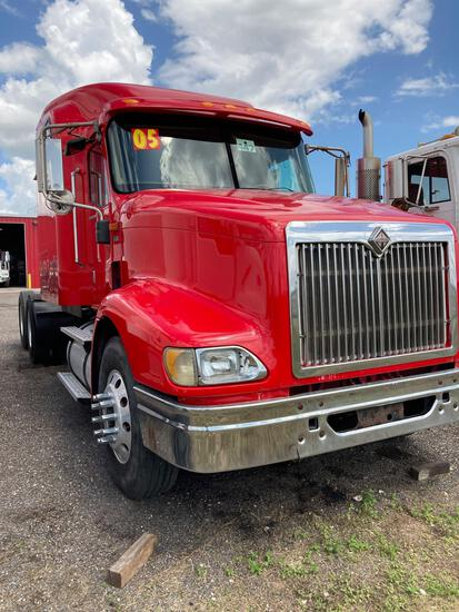 2005 International 9400i Truck, VIN # 2HSCNAPR05C004856