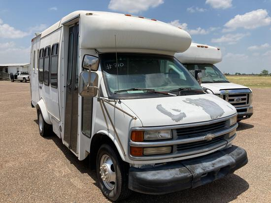 2000 Chevrolet Express Van, VIN # 1GBJG31F6Y1229233