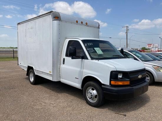 2008 Chevrolet Express Van, VIN # 1GBHG316481190527