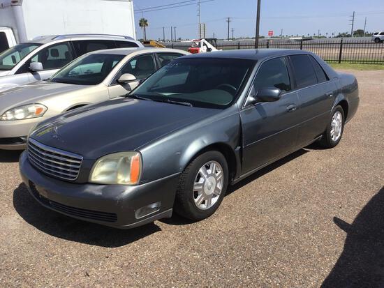 2005 Cadillac Deville Passenger Car, VIN # 1G6KD54Y25U188985