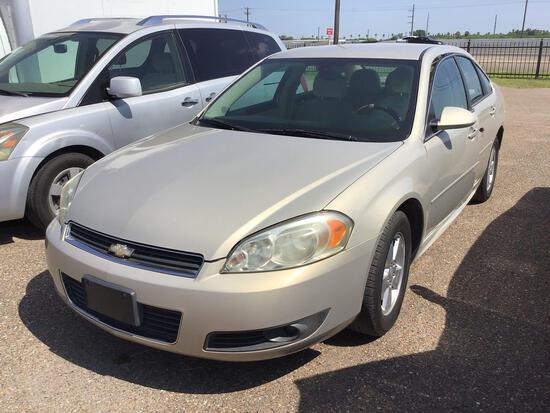 2011 Chevrolet Impala Passenger Car, VIN # 2G1WG5EK6B1163751