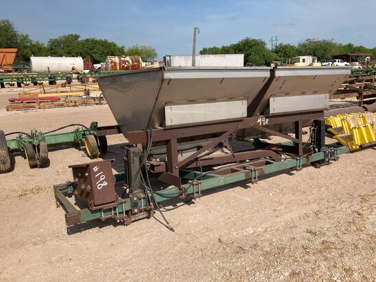 2-Stainless Steel Hopper Spreader