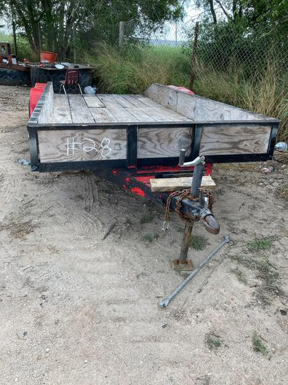2 Axle Utility Trailer Homemade, New Tires,...(Bill of Sale Only)