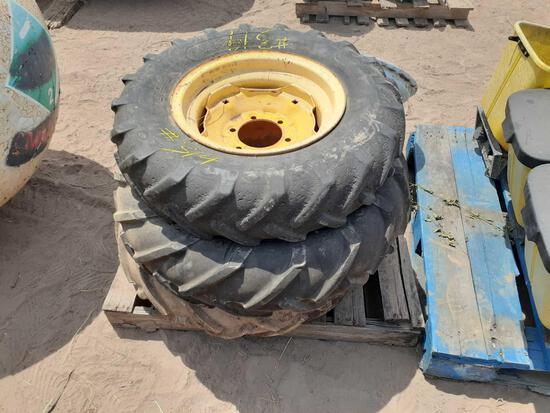 Pallet w/Implement Tires