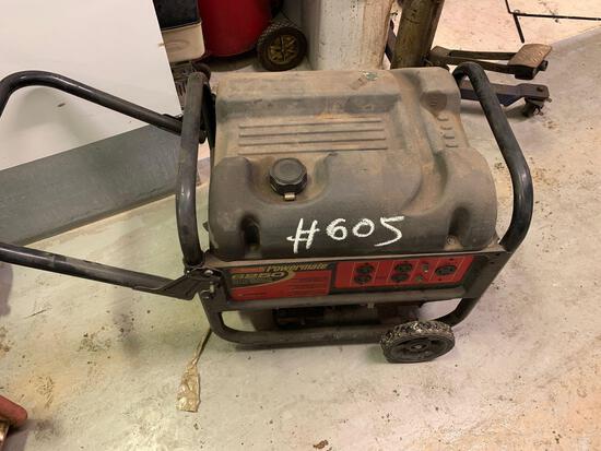 Coleman Powermate Generator 6,250 Max Watts (Room 406)