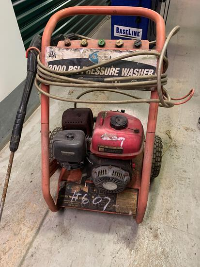All Power Pressure Washer 3,000 PSI (Room 406)