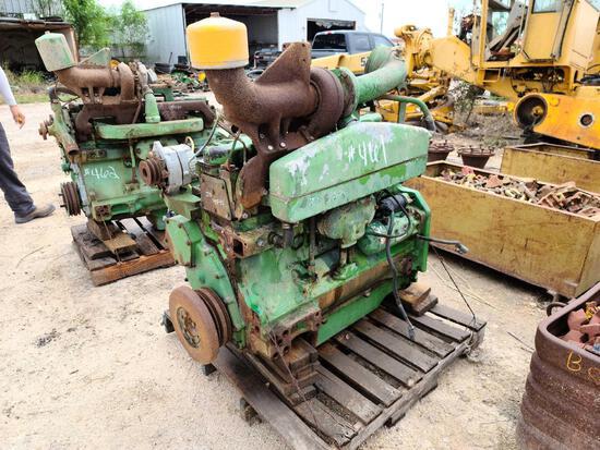 JD 4840 Engine 6466AR Z02154