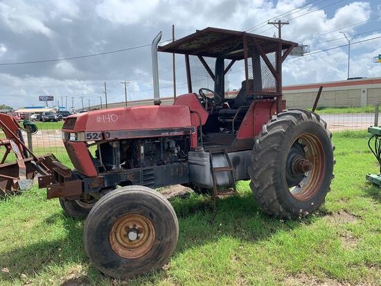 5240 Case/International Tractor S#JJF1040132 Open ROPS, HRS NOT VISIBLE,... Complete