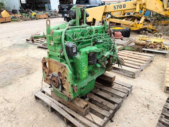 JD 9965 Running Engine 6076A501621