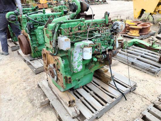 JD 9965 Running Engine 6076A504245